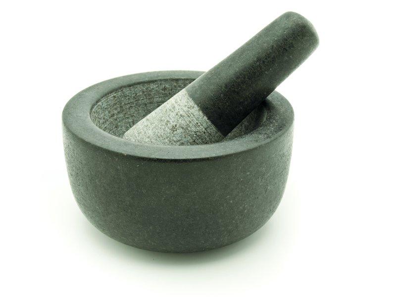 Mužar D7p-G1 granit crni polirani 120mm