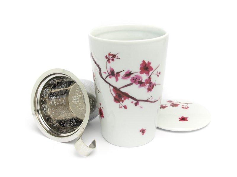šalica Za  Biljni čaj Cherry Bloosom Porculan