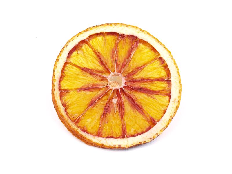 Crvena naranča sušena ploške