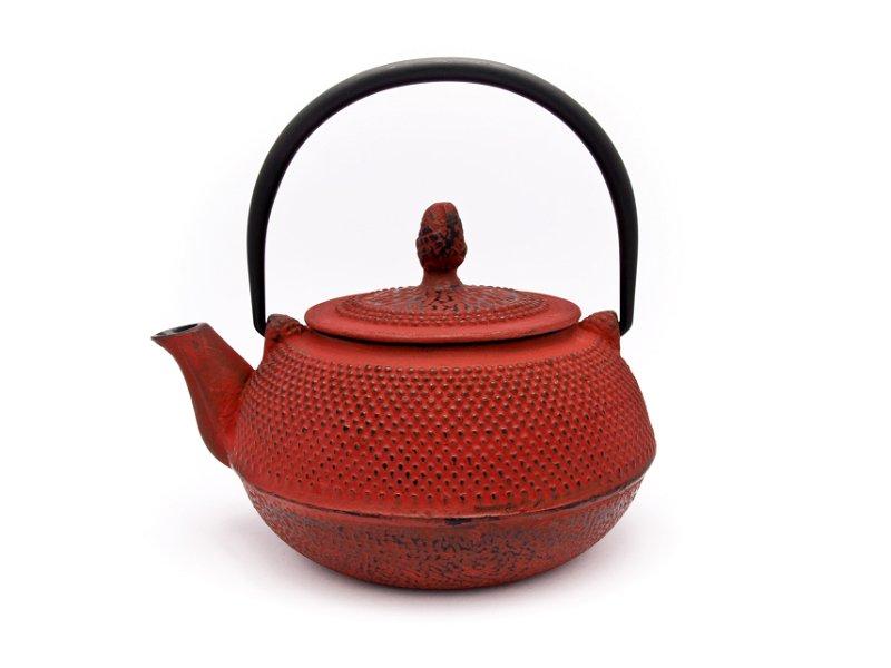 Čajnik željezni Keyomi Crveni 0,8l